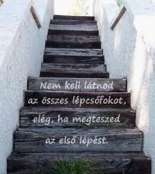 """Képtalálat a következőre: """"nem kell látnod az egész lépcsősort"""""""